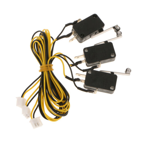 3Piece KW11-3Z Limit Mechanical Printer Switch with Cable for 3D Printer