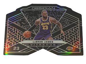 2019-20-Panini-Obsidian-LEBRON-JAMES-VITREOUS-99-RARE-SSP-Case-Hit-Lakers