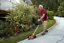 """Details about  /Worx Wg896 12 Amp 7.5/"""" Electric Lawn Edger  Trencher Orange And Black 7.5In"""