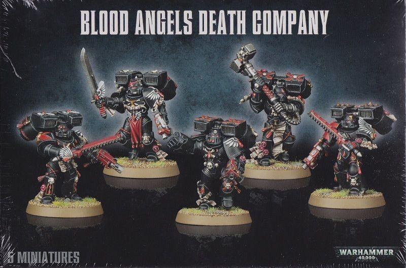 Compañía de la Muerte el Blood Angels Juegos Workshop Warhammer 40.000GW 40k