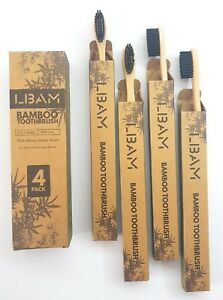 Bamboo-Toothbrush-Pack-of-4-Medium-Bristles-Beautifully-Crafted-And-Unique