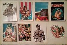 LIBERATORE TAMBURINI Ranxerox 8 CARTES POSTALES 1985 Ed Albert Michel