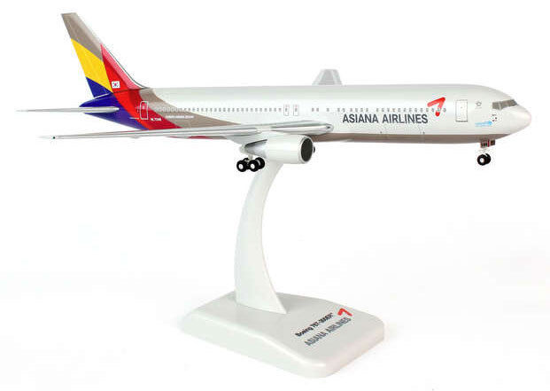 Asiana Airlines Boeing 767-300 1:200 HOGAN Wings modello b767 4517 NUOVO TELAIO