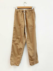 Details about Designer Bassike Size 0 96 to 8 AU) Tan Cotton Cargo Style Women's Pants