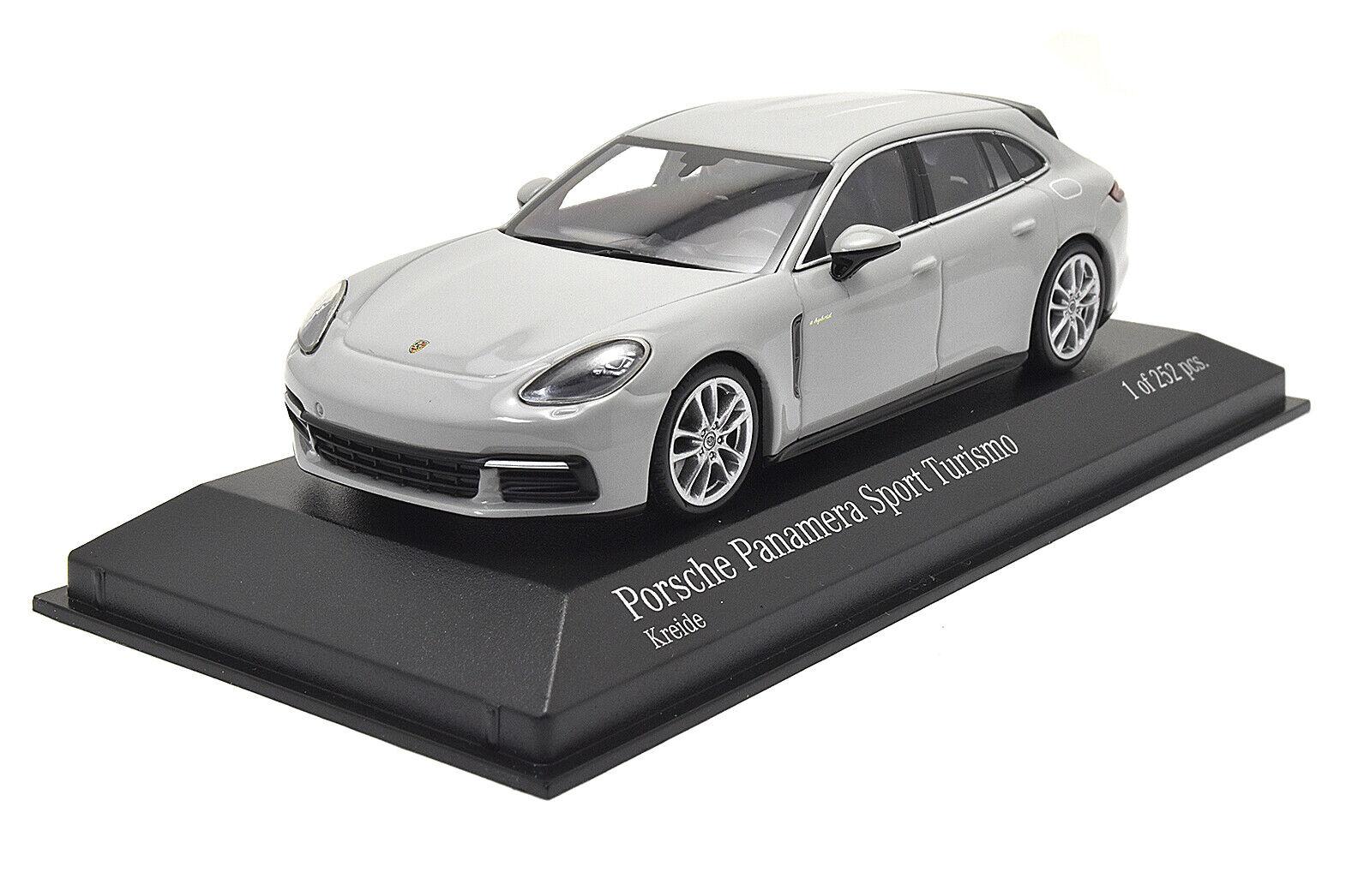410066114 MINICHAMPS 1 43 Porsche Panamera 4E-Hybrid Sport Turismo 2017 KREIDE