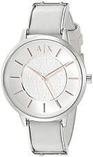 Armani Exchange Women's AX5311 'Olivia' White Leather Watch