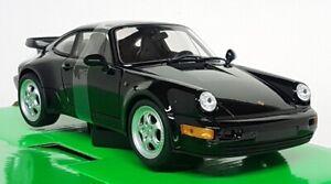 Nex-Models-1-24-Scale-Porsche-911-964-Turbo-Black-Diecast-model-car