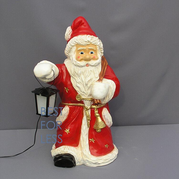 Weihnachtsmann Weihnachtsmann Weihnachtsmann Santa Claus Laterne Deko Dekoration Figur Weihnachts Licht Advent   Kompletter Spezifikationsbereich  7ed6b6