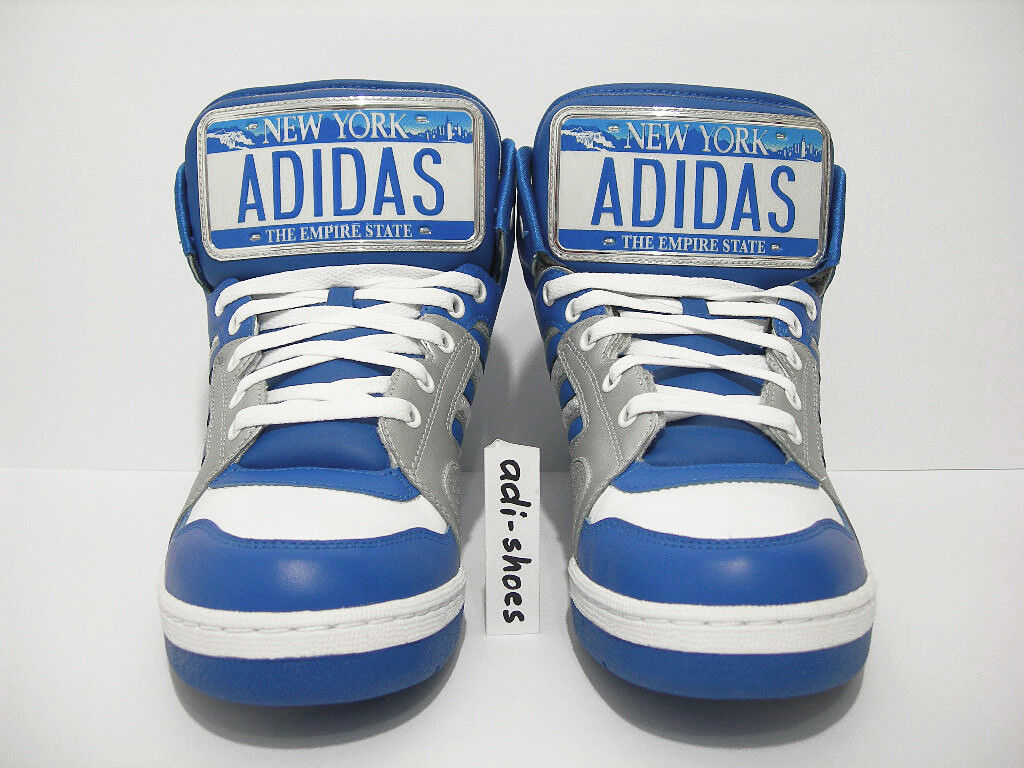 ADIDAS JEREMY SCOTT JS LICENSE PLATE NEW YORK US 4,5 wings G17179 instinct