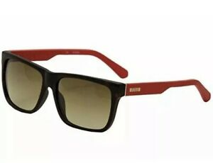 Details zu Guess GU 6838 56F Matte Brown Tortoise Red Gradient Men Large Sunglasses 57mm