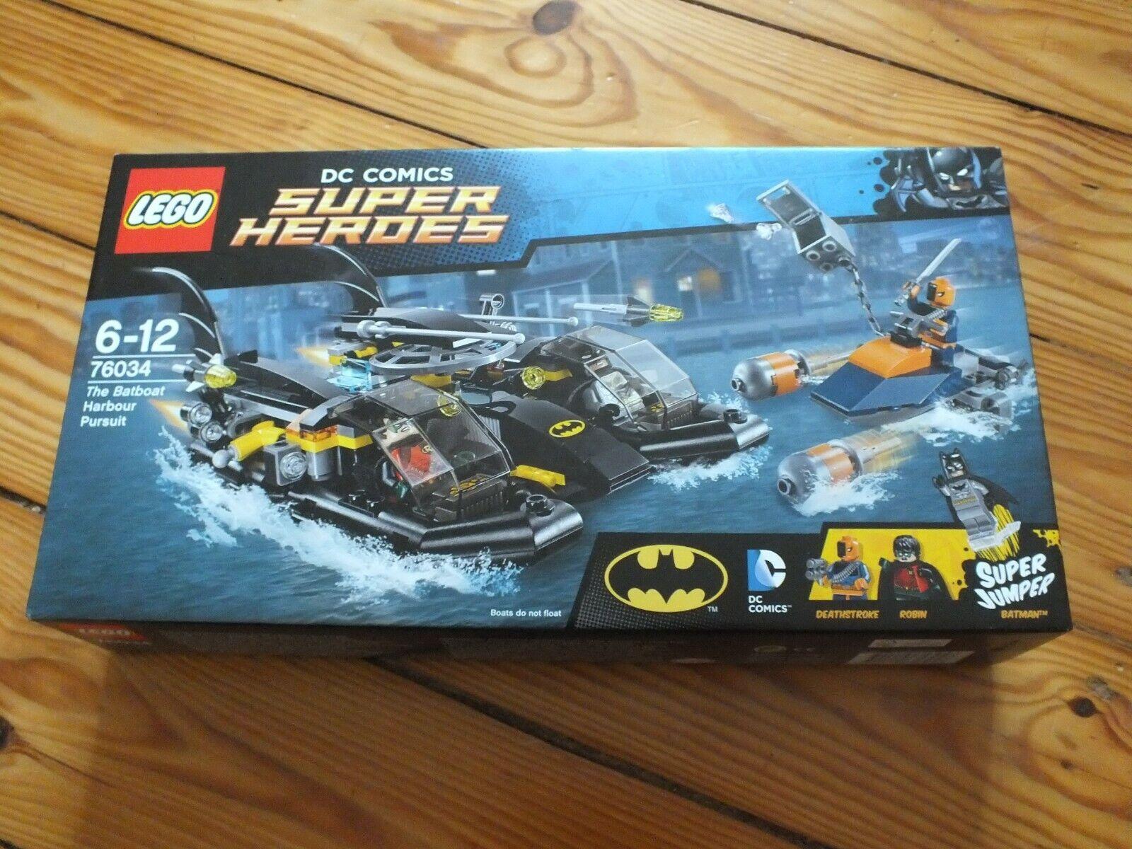 NEU Lego   76034 76034 76034 DC Super Heroes Batboat Harbour Pursuit Batman Robin NEU 8bc67f
