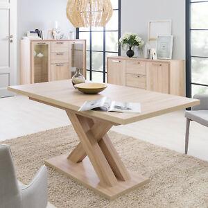 esstisch avant esszimmertisch auszugstisch tisch sonoma eiche ausziehbar 160 200 ebay. Black Bedroom Furniture Sets. Home Design Ideas