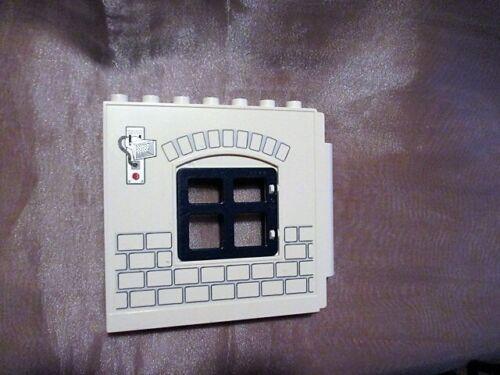 Lego Duplo Wand Mauer Tür für Haus Puppenhaus Feuerwehr Post Polizei Familien