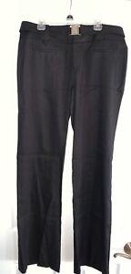 NWT Calvin Klein Favorite Fit Bootcut Black sz 8 x 33 Career Women's Dress Pants