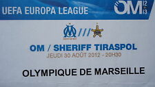 Karte UEFA EL 2012/13 Olympique de Marseille - Sheriff Tiraspol