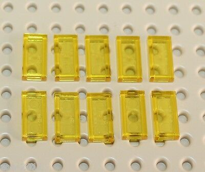Lego Transparent Yellow Tile 1x2 10 pieces NEW!!!