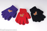Rhinegold Children's Magic Pimple Palm Grippe Gloves Childs Colours Designs Kids