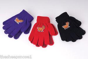 Rhinegold Enfants Childs Magic Bouton Palm Flu Gants Pour Enfants Couleurs Designs-afficher le titre d`origine 9o1QaU4F-07165557-160968847