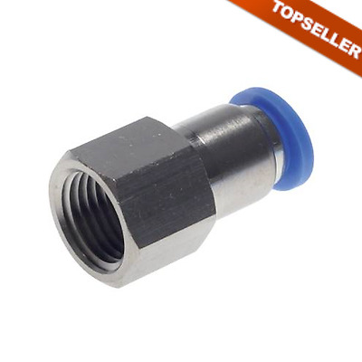 IQS Steckverschraubung mit Innengewinde Steck-Verbinder pneumatik alle Größen