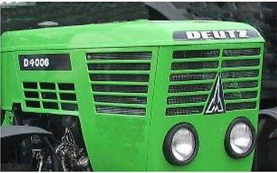 Aufkleber Deutz D4006 Traktor Label Sticker Motorhaube Modische Muster