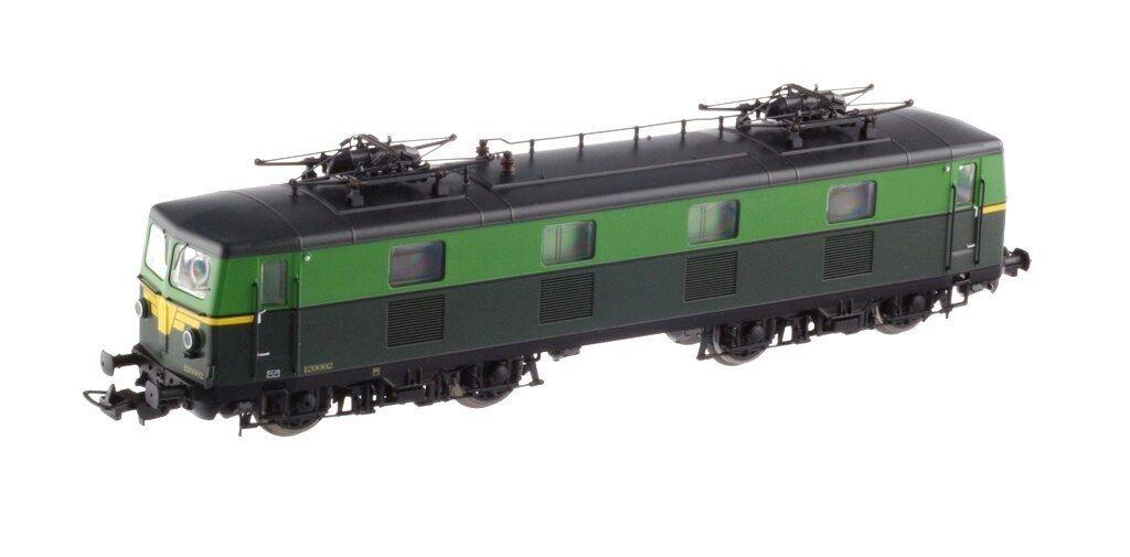 Piko 96542 SNCB NMBS Electric Locomotive Type Reeks 120 verde verde Ep3 DCC suono nuovo OVP