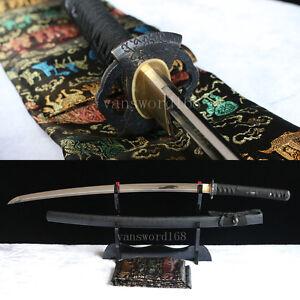 100/%Handmade 1060 high carbon steel Japanese Samurai Sword katana heavy cutting