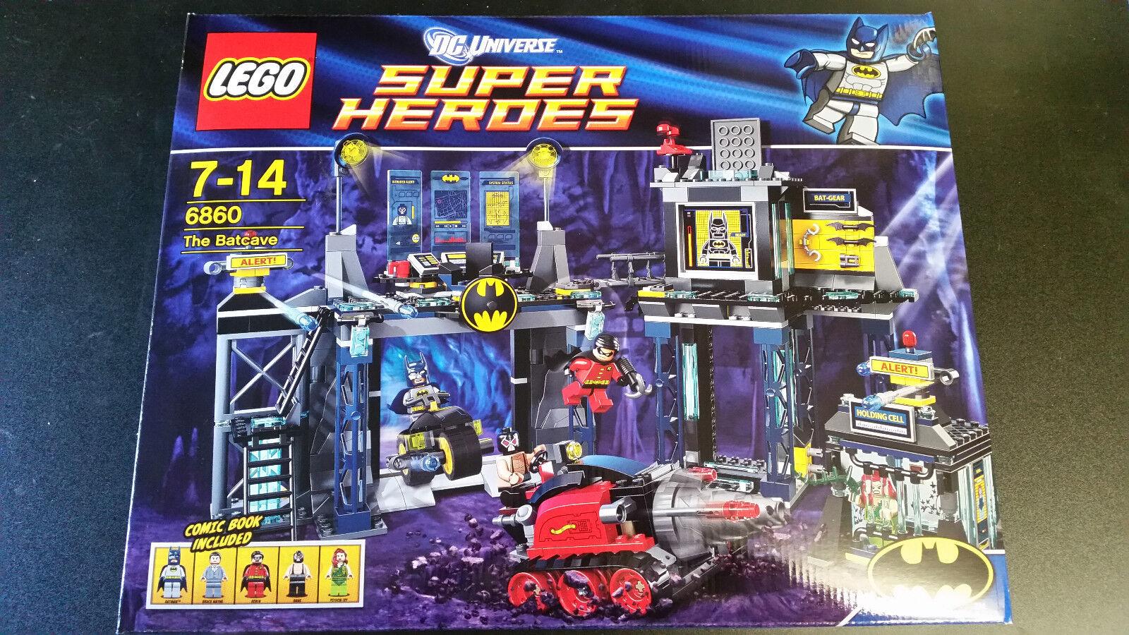 Lego Super Heroes The Batcave mercancía nueva 6860