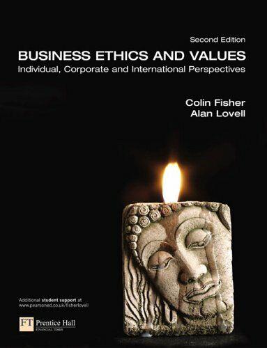 Business Ethics Und Werte Taschenbuch Alan Lovell