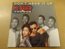 "MAXI-SINGLE 12"" / MC BAKER & THE PCB: DON'T MESS IT UP (MARLBORO, NETHERLANDS)"