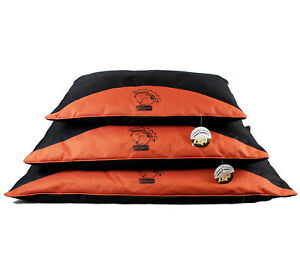 Sweet-Dreams-Red-amp-Black-Waterproof-Dog-Pillow-by-World-of-Pets-S-M-L