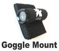 Goggle mount for bullet camera, lipstick cam head cam for snowboard ski moto X