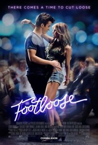 Details About Footloose Movie Poster 2 Sided Original Rare 27x40 Julianne Hough