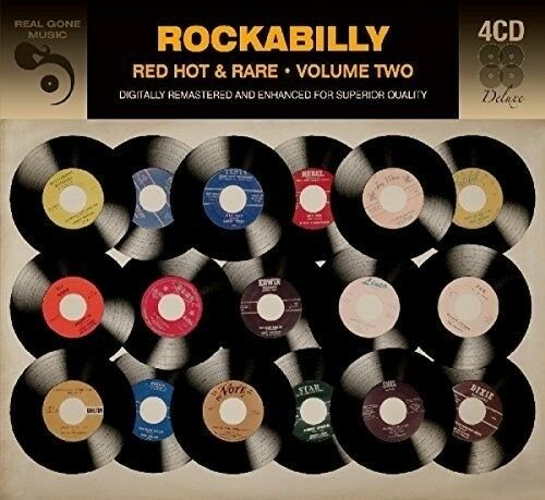 ROCKABILLY - RED HOT AND RARE - VOLUME TWO 4 CD NEUF