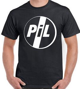 nera con Ltd Pil Limited Public Image T da shirt banda uomo q414Pwv