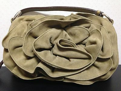 62959514d4bc Auth YVES SAINT LAURENT Nadja Shoulder Bag Excellent