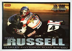 Vintage Poster 1999 Scott Russell Harley Davidson VR1000 Superbike Picotte