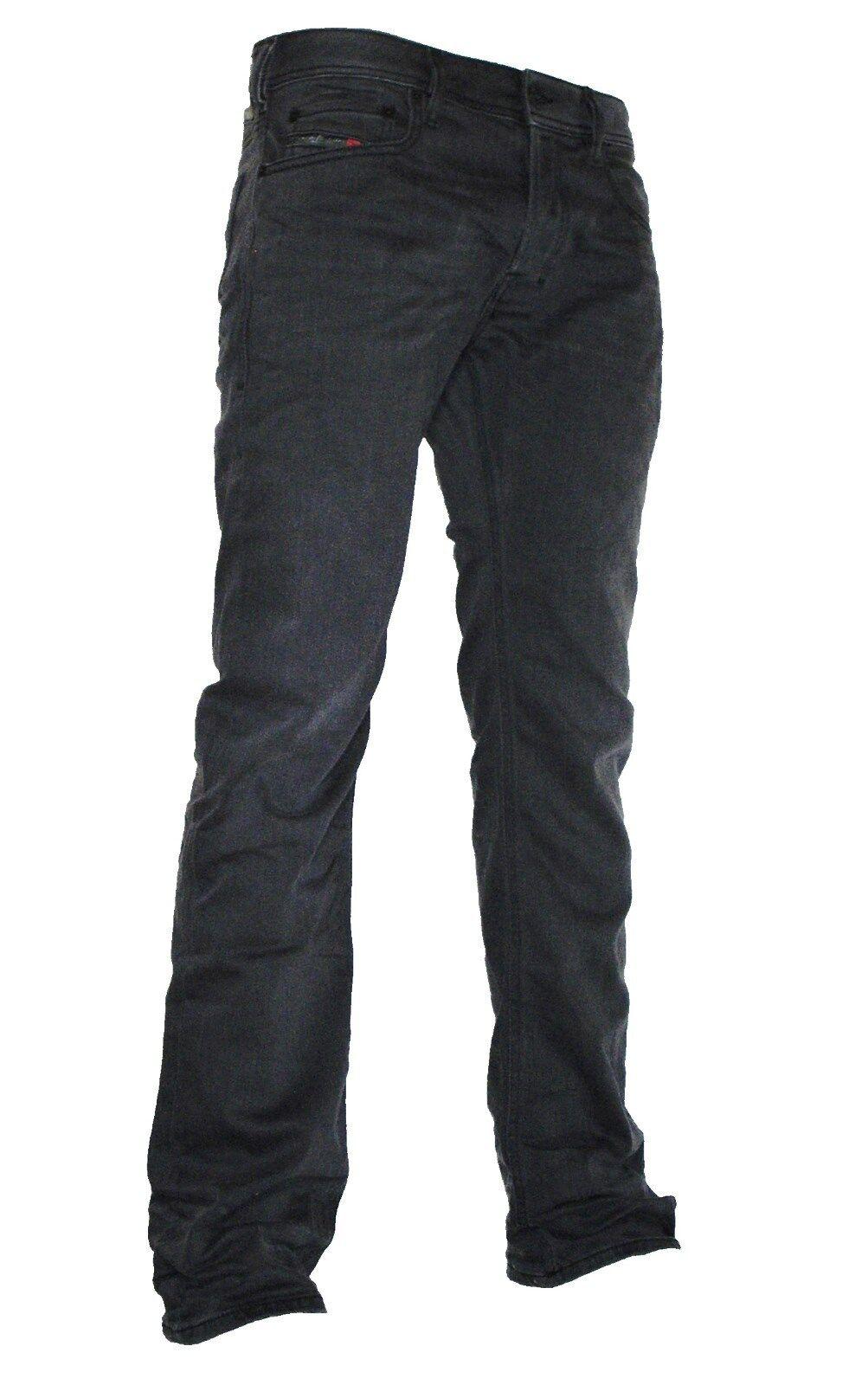 DIESEL Jeans Stretch Zatiny 0859x 0859x 0859x  avvio CUT  NERO GRIGIO NUOVO COLLEZIONE 2017 3e2ce3