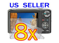 8x Canon PowerShot SX260 HS Camera LCD Screen Protector Cover Guard Shield Film