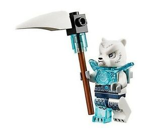 LEGO Legends of Chima Icepaw Minifigure with Minifig Weapons