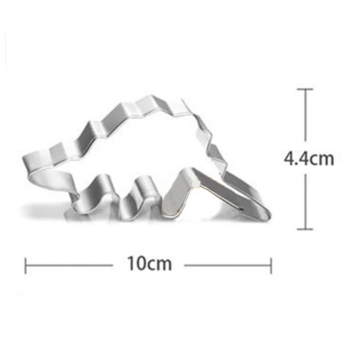 Details about  /Stainless Steel Cute Cartoon Dinosaur Mold Kitchen Baking Cookie Cutter Tool NEW