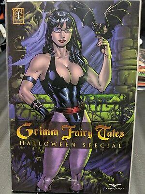 Grimm Fairy Tales 2016 Halloween Special B cover ~ Zenescope