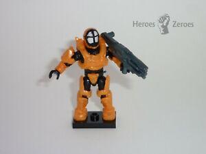 Halo Mega Bloks Set #CND00 UNSC Spartan Oceanic Figure with Incinerator Cannon