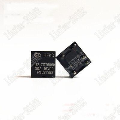 Automotive Relay 30A 12VDC 5 Pins x 10pcs 555 HFKC//012-ZST