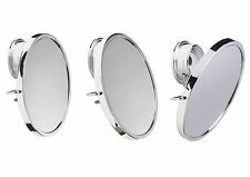 NEW CROYDEX TWIST N LOCK ANTI FOG MIRROR SUCTION OR SCREW MIRROR SWIVEL & TILT