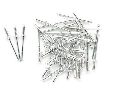 Lote de 100 rivets 4.8 x 14 mm - Perel 3624-514 - Déstockage