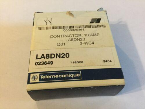 Telemecanique Contact Block LA8DN20