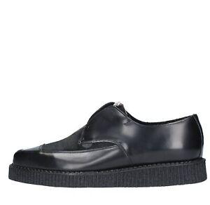 In liquidazione gamma completa di specifiche belle scarpe Details about AMF13_UNDE Scarpe Creeper Classiche UNDERGROUND uomo Nero