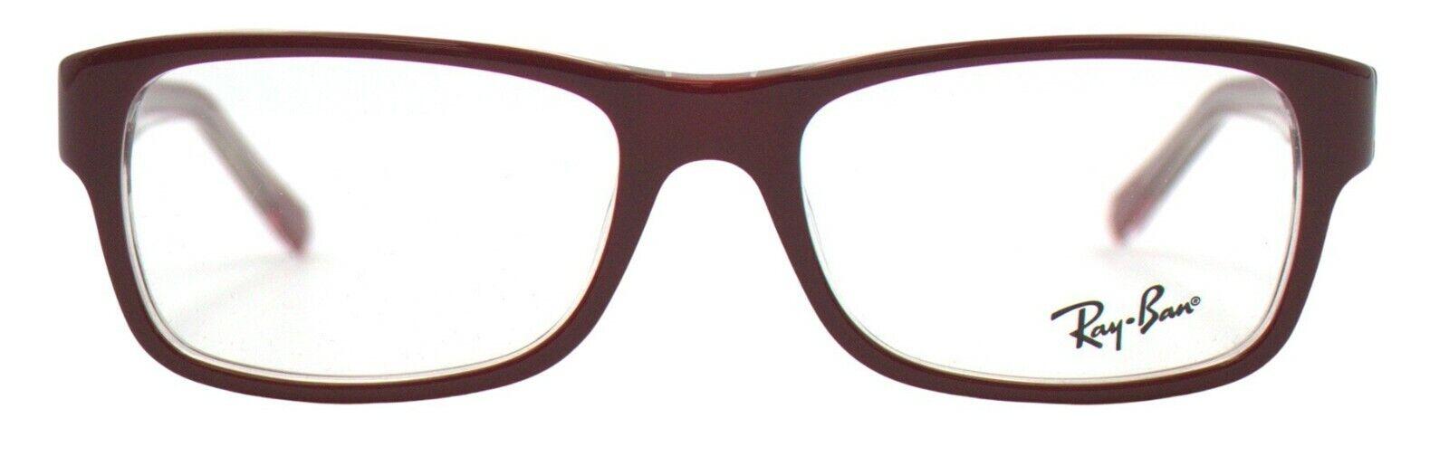 Ray-Ban Damen Herren Brillenfassung RX5268 5738 52mm rot Vollrand BO37 B