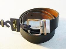 Polo Ralph Lauren Men's Reversible Leather Belt Black / Brown NWT Size 40