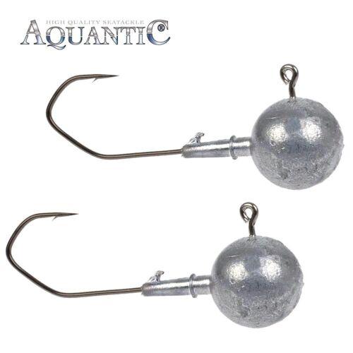 2 Stück Aquantik Mega-Jighaken 16//0 220g